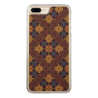 Capa iPhone 8 Plus/ 7 Plus Carved Ornamento de talavera do mosaico do vintage