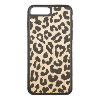 Capa iPhone 8 Plus/ 7 Plus Carved Padrões pretos & brancos da pele animal do