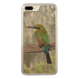 Capa iPhone 8 Plus/ 7 Plus Carved Pássaro do abelha-comedor do arco-íris, Austrália