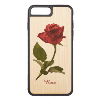 Capa iPhone 8 Plus/ 7 Plus Carved Personalize: Escolha a fotografia floral da rosa
