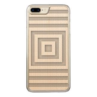 Capa iPhone 8 Plus/ 7 Plus Carved Quadrado branco geométrico