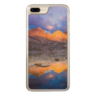 Capa iPhone 8 Plus/ 7 Plus Carved Reflexão da montanha, Califórnia