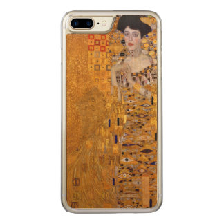 Capa iPhone 8 Plus/ 7 Plus Carved Retrato de Gustavo Klimt do vintage de Adele