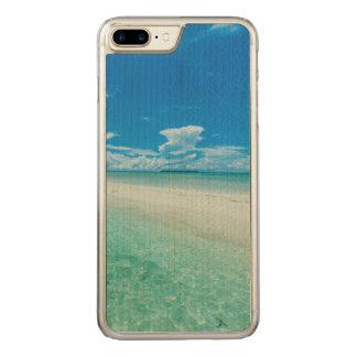 Capa iPhone 8 Plus/ 7 Plus Carved Seascape tropical azul, Palau