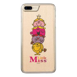 Capa iPhone 8 Plus/ 7 Plus Carved Senhorita pequena pequena Standing Alto da