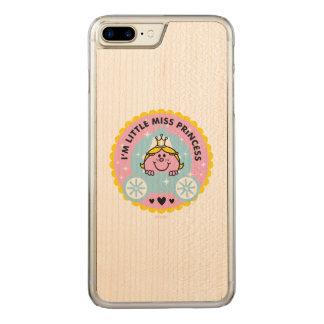 Capa iPhone 8 Plus/ 7 Plus Carved Senhorita pequena princesa | eu sou uma princesa