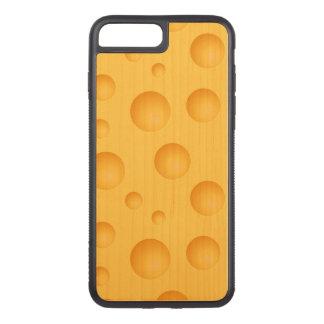 Capa iPhone 8 Plus/ 7 Plus Carved Teste padrão amarelo do queijo