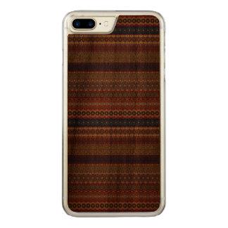 Capa iPhone 8 Plus/ 7 Plus Carved Teste padrão asteca tribal do vintage