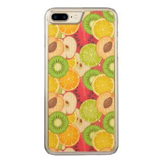Capa iPhone 8 Plus/ 7 Plus Carved Teste padrão colorido da fruta do divertimento