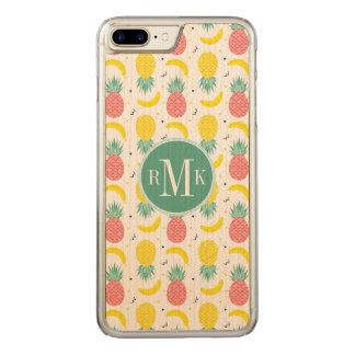 Capa iPhone 8 Plus/ 7 Plus Carved Teste padrão colorido da fruta tropical