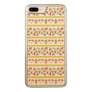 Capa iPhone 8 Plus/ 7 Plus Carved Teste padrão psicótico da páscoa colorido