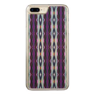 Capa iPhone 8 Plus/ 7 Plus Carved Teste padrão roxo original