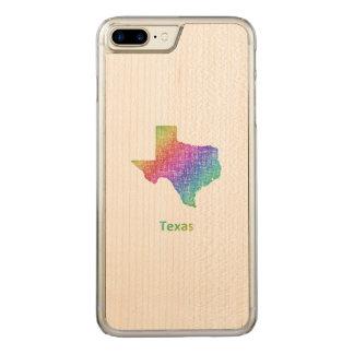 Capa iPhone 8 Plus/ 7 Plus Carved Texas