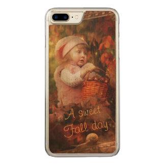 Capa iPhone 8 Plus/ 7 Plus Carved Um dia doce da queda