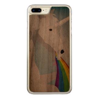 Capa iPhone 8 Plus/ 7 Plus Carved Unicórnios puking da ilustração