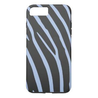 Capa iPhone 8 Plus/7 Plus Case Zebra Blue