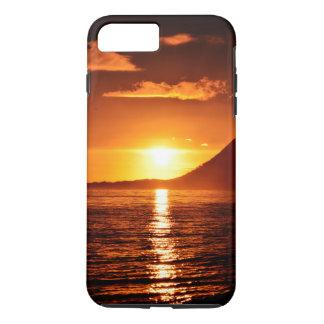 Capa iPhone 8 Plus/7 Plus (caso bonito do por do sol)