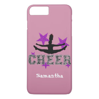 Capa iPhone 8 Plus/7 Plus Caso cor-de-rosa do iphone 6 do cheerleader