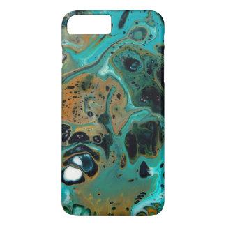"""Capa iPhone 8 Plus/7 Plus """"Caso da pintura do abstrato de um começo novo"""""""