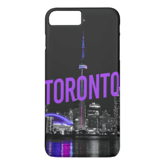 Capa iPhone 8 Plus/7 Plus caso da skyline de Toronto do iPhone (4,5,6,7,8)