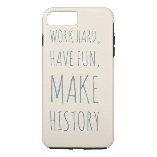 Capa iPhone 8 Plus/7 Plus Caso de Iphone 7   - citações inspiradores -