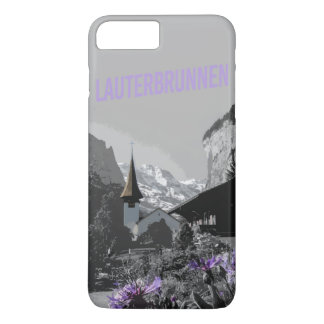 Capa iPhone 8 Plus/7 Plus caso de Lauterbrunnen do iPhone (4,5,6,7,8)
