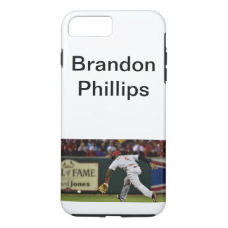 Capa iPhone 8 Plus/7 Plus Caso do basebol de Brandon Phillips
