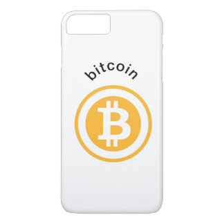 Capa iPhone 8 Plus/7 Plus Caso do bitcoin de İPhone 8