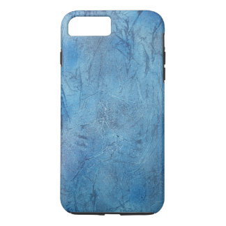 Capa iPhone 8 Plus/7 Plus caso do cobrir do telefone do crackle do azul de