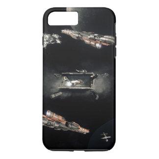 Capa iPhone 8 Plus/7 Plus Caso do espaço