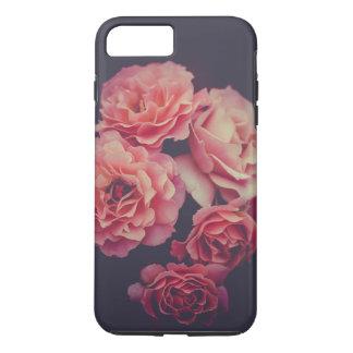 Capa iPhone 8 Plus/7 Plus Caso do iPhone 7 do defensor da flor