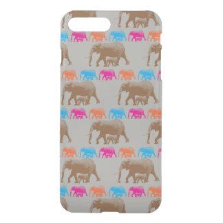 Capa iPhone 8 Plus/7 Plus Caso do iPhone 7 do teste padrão do elefante