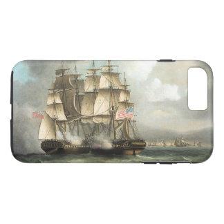 Capa iPhone 8 Plus/7 Plus Caso do iPhone 7 dos mares da batalha do navio da
