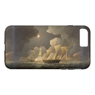 Capa iPhone 8 Plus/7 Plus Caso do iPhone 7 dos mares do oceano do navio de