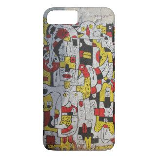 Capa iPhone 8 Plus/7 Plus caso do iphone 7Plus que caracteriza grafites de
