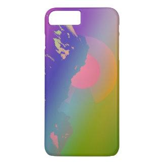 Capa iPhone 8 Plus/7 Plus Caso do por do sol da montanha de Colorado