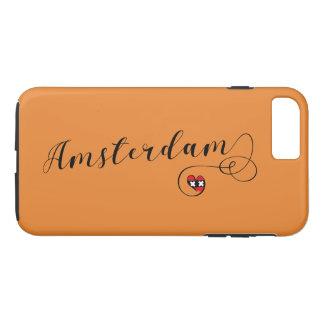 Capa iPhone 8 Plus/7 Plus Caso do telemóvel de Amsterdão do coração, Holland