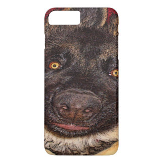 Capa iPhone 8 Plus/7 Plus Caso estrangeiro de IPhone 7 do cão da atitude do