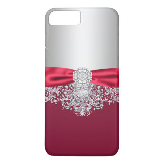 Capa iPhone 8 Plus/7 Plus Caso feminino do brilho do jewell
