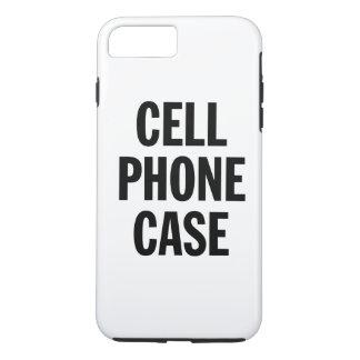 Capa iPhone 8 Plus/7 Plus Caso genérico do telemóvel