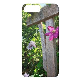Capa iPhone 8 Plus/7 Plus Caso místico do iPhone 7 da flor