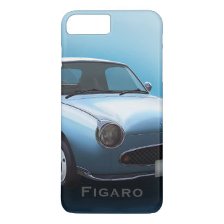 Capa iPhone 8 Plus/7 Plus Caso pálido do iPhone 7 do carro de Nissan Figaro