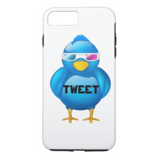 Capa iPhone 8 Plus/7 Plus Caso positivo de Iphone 7 do Tweet