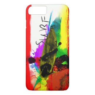 Capa iPhone 8 Plus/7 Plus Caso positivo de Iphone 7 tropicais coloridos