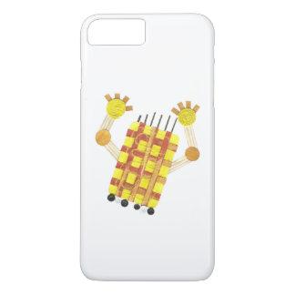 Capa iPhone 8 Plus/7 Plus Caso positivo de patinagem de IPhone 7 do sabão