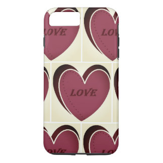 Capa iPhone 8 Plus/7 Plus caso positivo do amor do iPhone 7