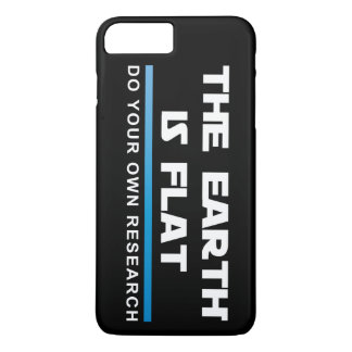 Capa iPhone 8 Plus/7 Plus Caso positivo do #FLATEARTH do iPhone 7 de Apple