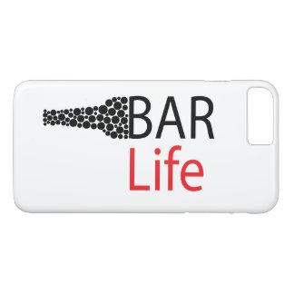 Capa iPhone 8 Plus/7 Plus Caso positivo do iPhone 7 de Apple da vida do bar