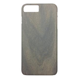 Capa iPhone 8 Plus/7 Plus Caso positivo do iPhone 7 de madeira cinzentos