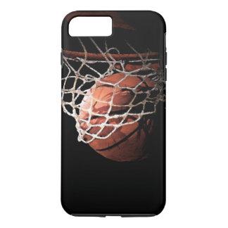 Capa iPhone 8 Plus/7 Plus Caso positivo do iPhone 7 do basquetebol
